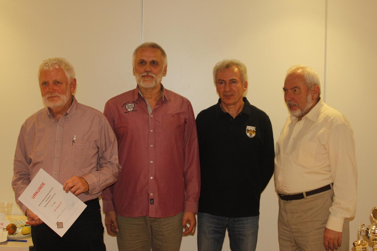 Undankbarer (?) vierter Platz: SSC Rostock II